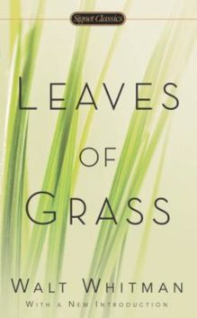 Omslag Leaves of grass. Grasbladen - Walt Whitman