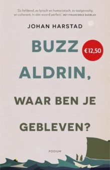 Omslag Buzz Aldrin, waar ben je gebleven? - Johan Harstad