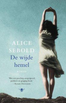Omslag De wijde hemel - Alice Sebold