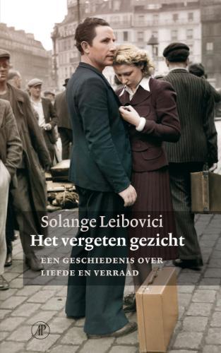 Omslag Het vergeten gezicht - Solange Leibovici