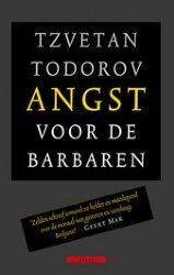 Omslag Angst voor de barbaren, Tzvetan Todorov -