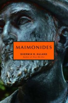 Omslag Maimonides - Sherwin B. Nuland