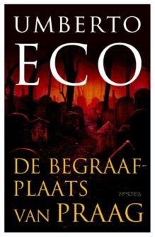 Omslag De begraafplaats van Praag - Umberto Eco