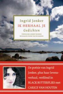 Omslag Ik herhaal je - Ingrid Jonker