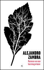 Omslag Manieren om naar huis terug te keren - Alejandro Zambra