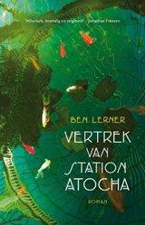 Omslag Het vertrek van station Atocha - Ben Lerner