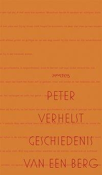 Omslag Geschiedenis van een berg - Peter Verhelst