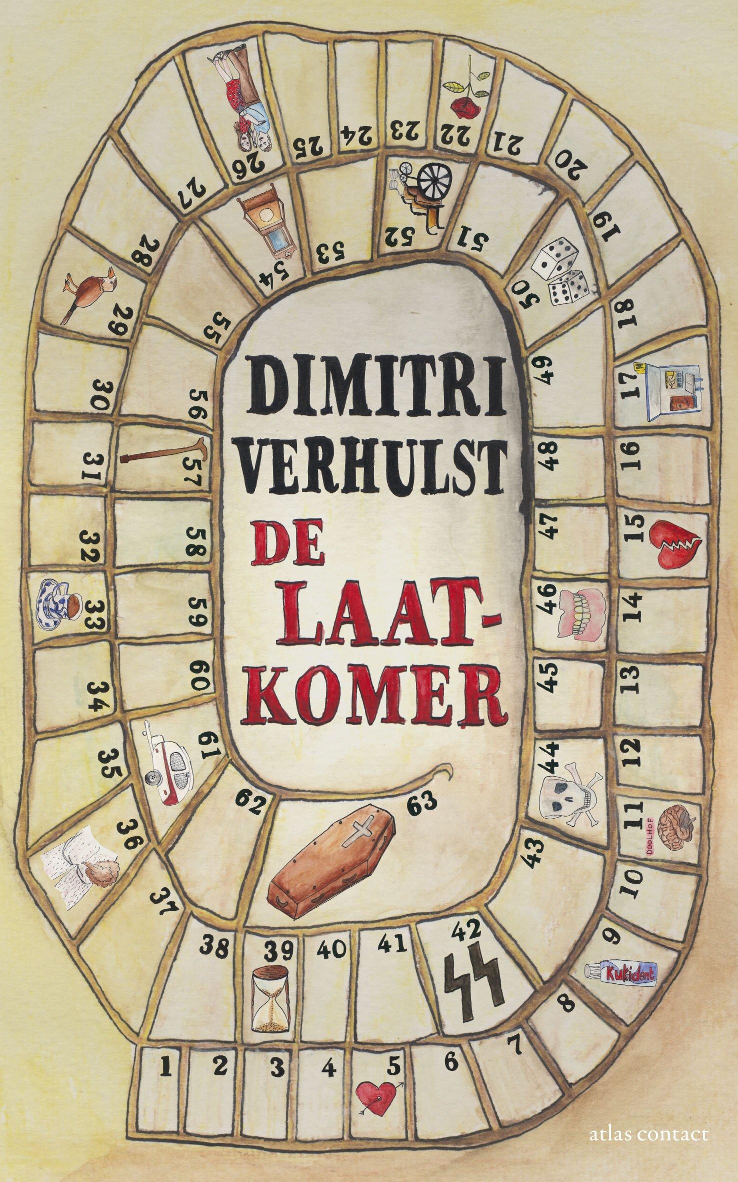 Omslag De laatkomer - Dimitri Verhulst