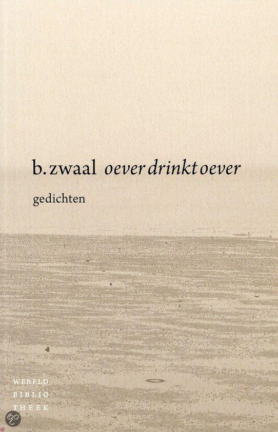 Omslag Oever drinkt oever - B. Zwaal