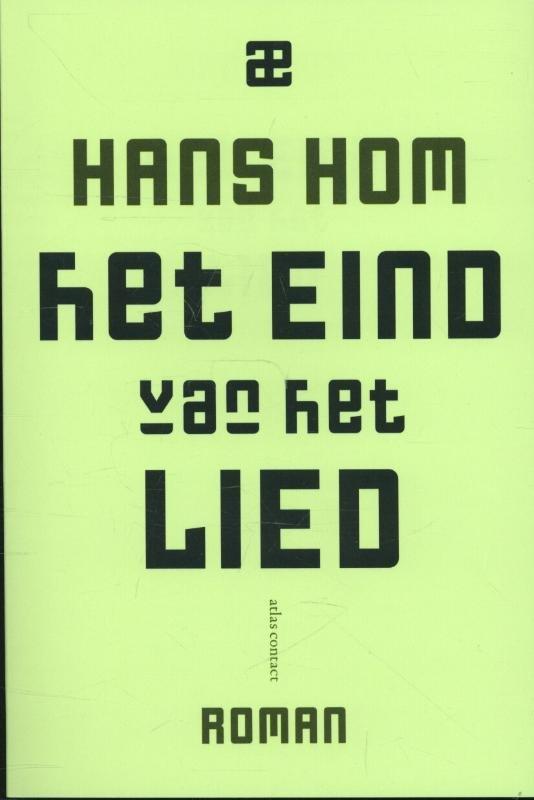 Omslag Het eind van het lied  -  Hans Hom