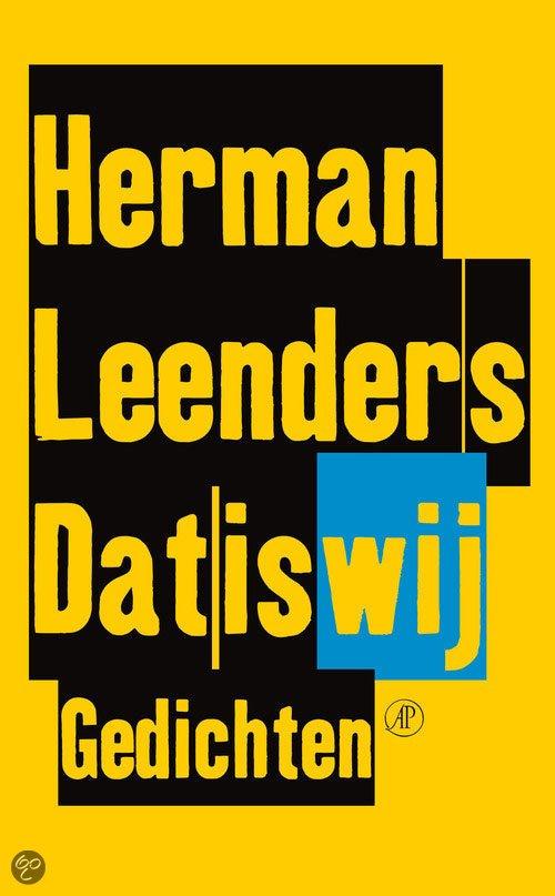 Omslag Dat is wij - Herman Leenders
