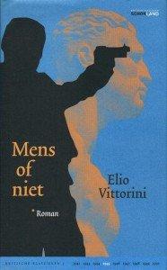 Omslag Mens of niet  -  Elio Vittorini