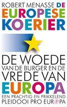 Omslag De Europese koerier  -  Robert Menasse