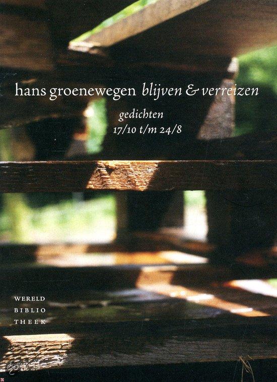 Omslag blijven en verreizen  -  Hans Groenewegen