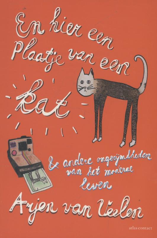 Omslag En hier een plaatje van een kat - Arjen van Veelen