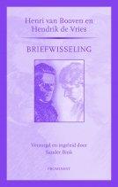 Omslag Henri van Booven en Hendrik de Vries, Briefwisseling - Henri van Booven, Hendrik de Vries