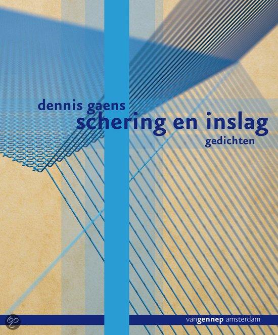 Omslag Schering en inslag - Dennis Gaens
