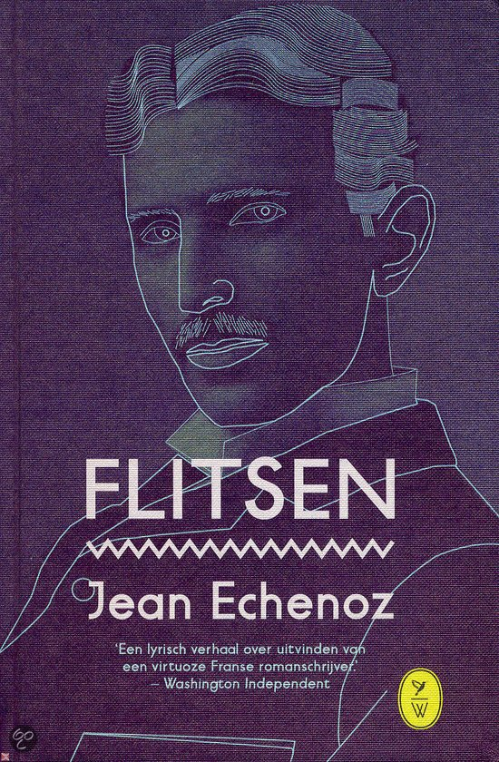 Omslag Flitsen - Jean Echenoz