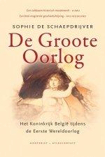 Omslag De Groote Oorlog - Sophie De Schaepdrijver