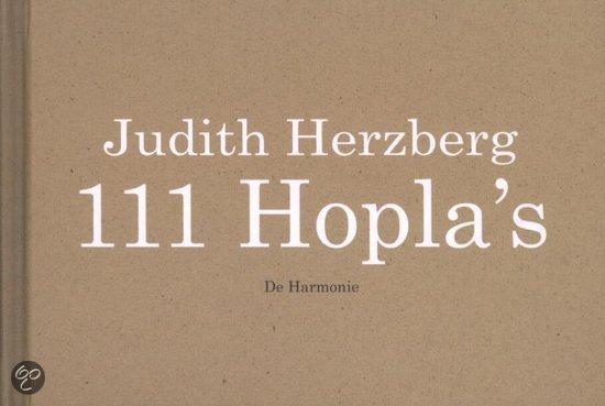 Omslag 111 Hopla's - Herzberg, Judith