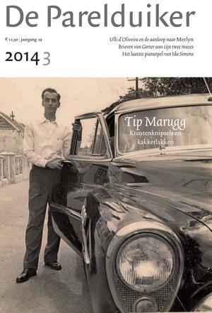 Omslag De Parelduiker 2014/3. Tip Marugg, Ida Simons, Herman Gorter, Theo van Doesburg e.a. - unknown