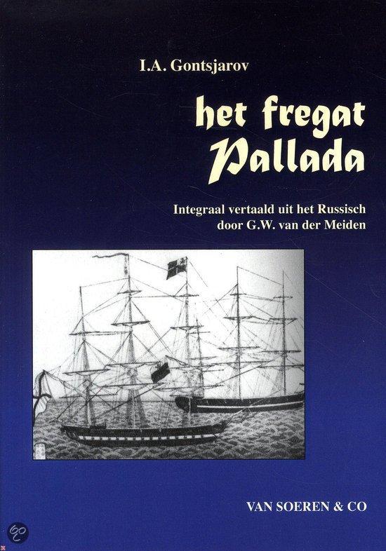 Omslag Het fregat Pallada  -  I.A. Gontsjarov