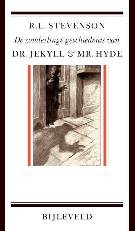 Omslag De zonderlinge geschiedenis van dr. Jekyll & mr. Hyde  -  R.L. Stevenson