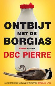 Omslag Ontbijt met de Borgias  -  DBC Pierre