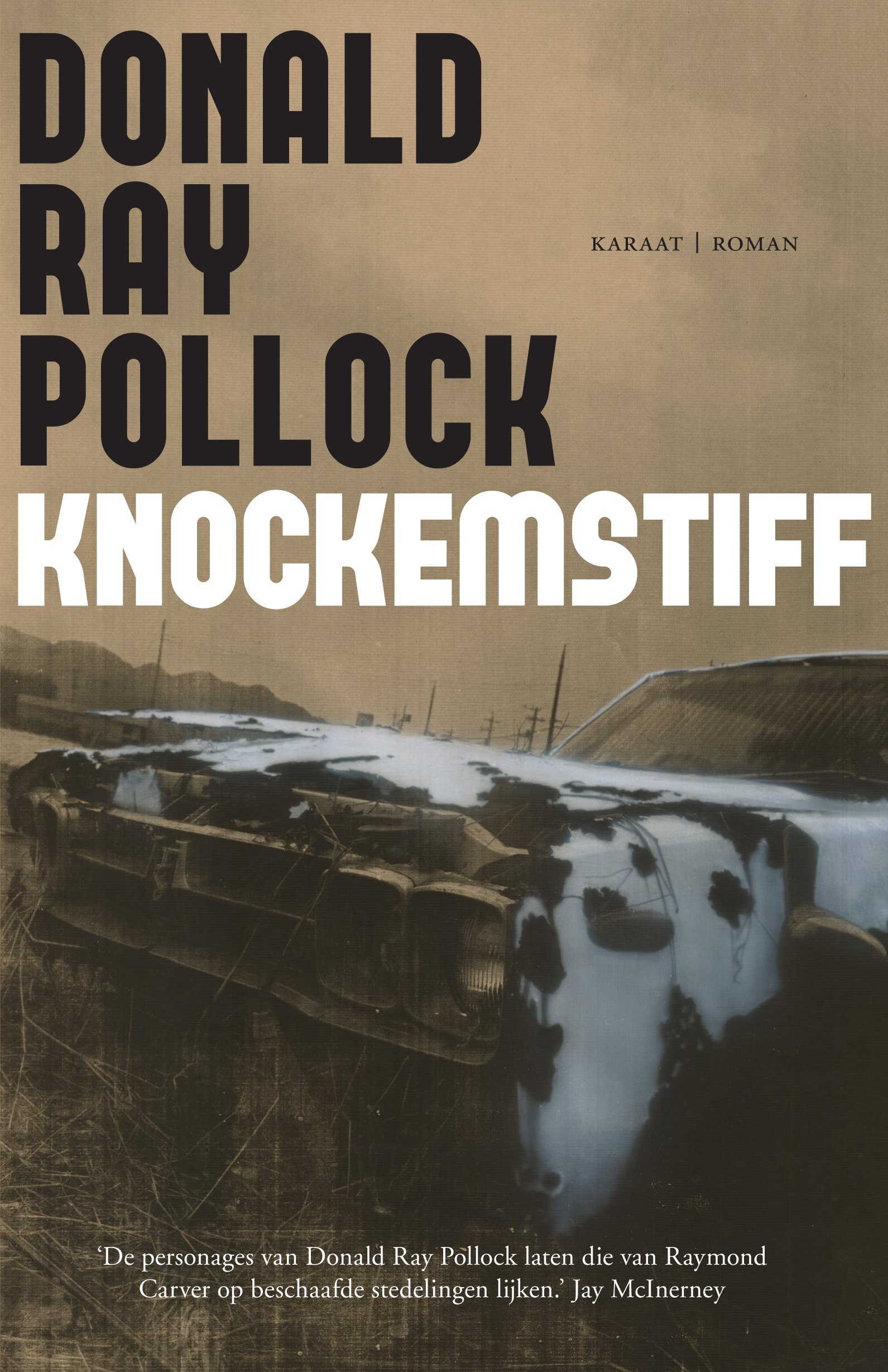 Omslag Knockemstiff  -  Donald Ray Pollock