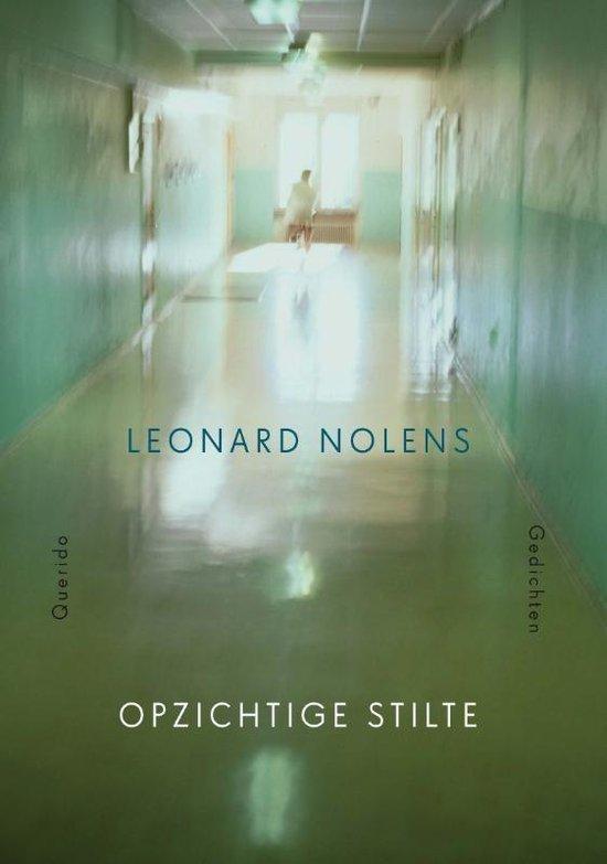 Omslag Opzichtige stilte  -  Leonard Nolens
