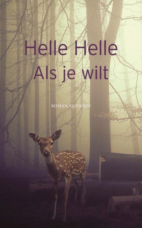 Omslag Als je wilt  -  Helle Helle