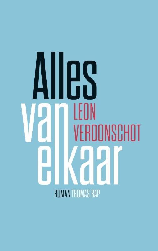 Omslag Alles van elkaar  -  Leon Verdonschot