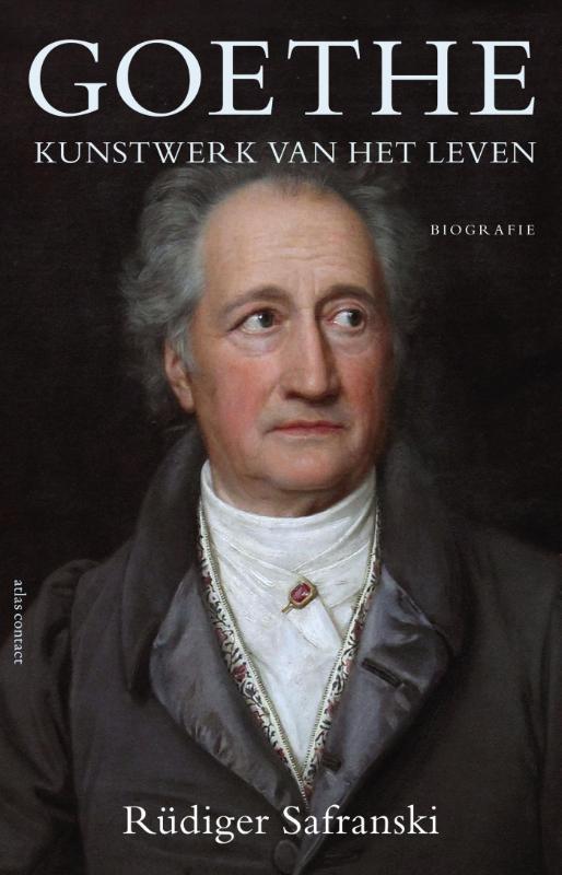Omslag Goethe. Kunstwerk van het leven  -  Rüdiger Safranski