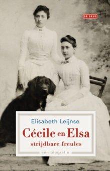Omslag Cécile en Elsa, strijdbare freules - Elisabeth Leijnse