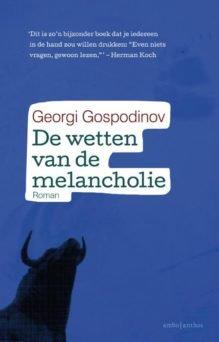Omslag De wetten van de melancholie        - Georgi Gospodinov