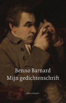 Omslag Mijn gedichtenschrift - Benno Barnard