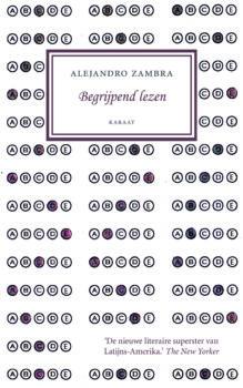 Omslag Begrijpend lezen - Alejandro Zambra