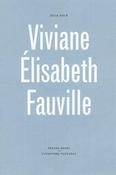 Omslag Viviane Élisabeth Fauville - Julia Deck