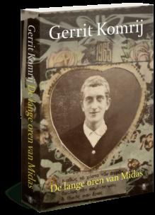 Omslag De lange oren van Midas - Gerrit Komrij