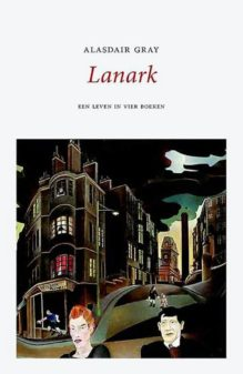 Omslag Lanark - Alasdair Gray