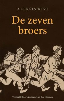 Omslag De zeven broers - Aleksis Kivi