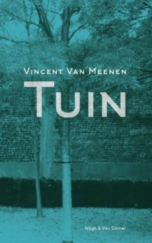 Omslag Tuin, novelle - Vincent Van Meenen
