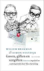 Omslag Gaven, giften en vergiften : brieven - Willem Brakman en Simon Vestdijk