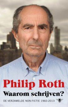 Omslag Waarom schrijven? - Philip Roth