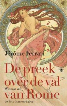 Omslag De preek over de val van Rome - Jérôme Ferrari