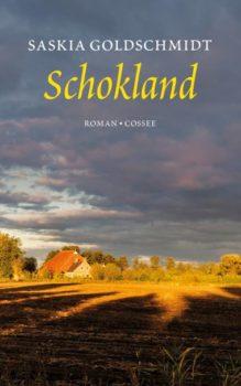 Omslag Schokland - Saskia Goldschmidt