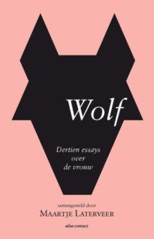 Omslag Wolf - Samengesteld door Maartje Laterveer