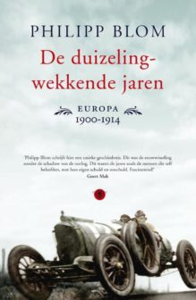 Omslag De duizelingwekkende jaren - Philipp Blom