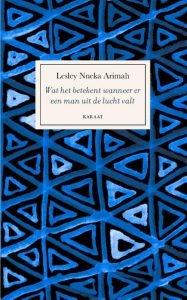 Omslag Wat het betekent wanneer er een man uit de lucht valt - Lesley Nneka Arimah