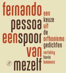 Omslag Een spoor van mezelf, een keuze uit de orthonieme gedichten - Fernando Pessoa